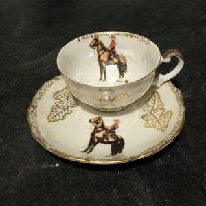 Canada RCMP Tea Cup & Saucer